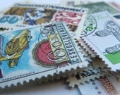 SALE 50 POSTAGE STAMPS - Scrapbooking, collage, altered art - 50 Worldwide Stamp collection