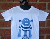 Monster Number 9 Kids T Shirt