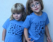 Cats Kids Tri Blend Tee, Grey, Blue or Red