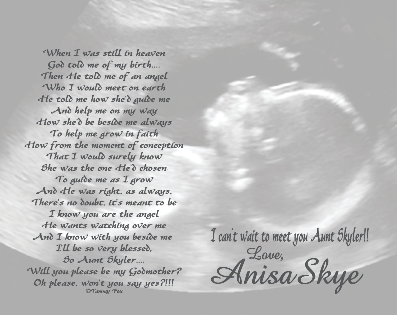 unborn baby girl poems - photo #7