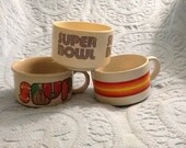 Soup bowls from the seventies set of 3
