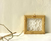 20% Off- Decor lace  gift,  Antique Crochet Lace, Wall art , Rustic wall hanging, Country wall decor, Country home  chic decor.