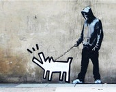 Banksy Canvas (READY TO HANG) - Choose Your Weapon - Multiple Canvas Sizes
