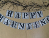 HAPPY HAUNTING Banner ... Halloween Banner ... Halloween Decor ... Halloween Fun ... Celebration
