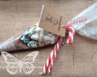 Snowman Soup Christmas Hot Chocolate Treat