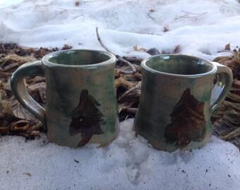 Northern Lights Mugs-set of two