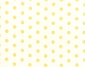 Whitewashed Cottage - Faded Dots in Linen Daffodil by 3 Sisters for Moda Fabrics