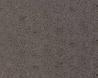 Atelier - Brocade in Charcoal by 3 Sisters for Moda Fabrics