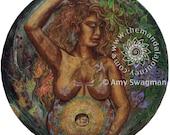 "Sticker - ""Gaia"" Mandala"