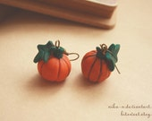 Lil Pumpkin earrings