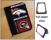 personalized HARD case - ipad case/ kindle case/ nook case/ samsung case/ others - full zipper close - denver