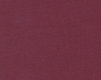 Fabric Finders Maroon Solid Twill