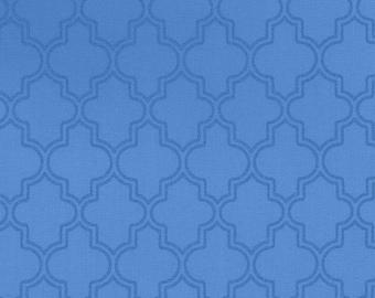 Blue Pearl Quatrefoil