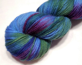 Merino wool DK weight yarn 93g (3.3oz) - Improvisation 11