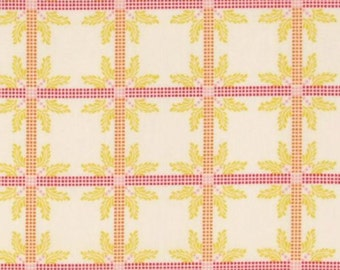 SALE One Yard Anna Maria Horner Little Folks Voile - Four Square in Sweet