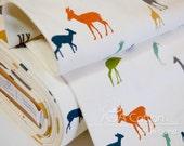 ORGANIC Fabric Interlock KNIT Certified Cotton, Birch fabric,  The Tribe Knit textile from Serengeti  Interlock knits collection