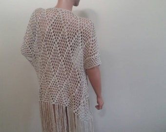 On Sale, crochet summer cover up