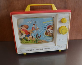 Vintage Fisher Price Musical TV - Check out all of our vintage toys