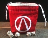 Borderlands Vault Symbol Dice Bag