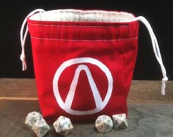 Borderlands Vault Symbol Dice Bag