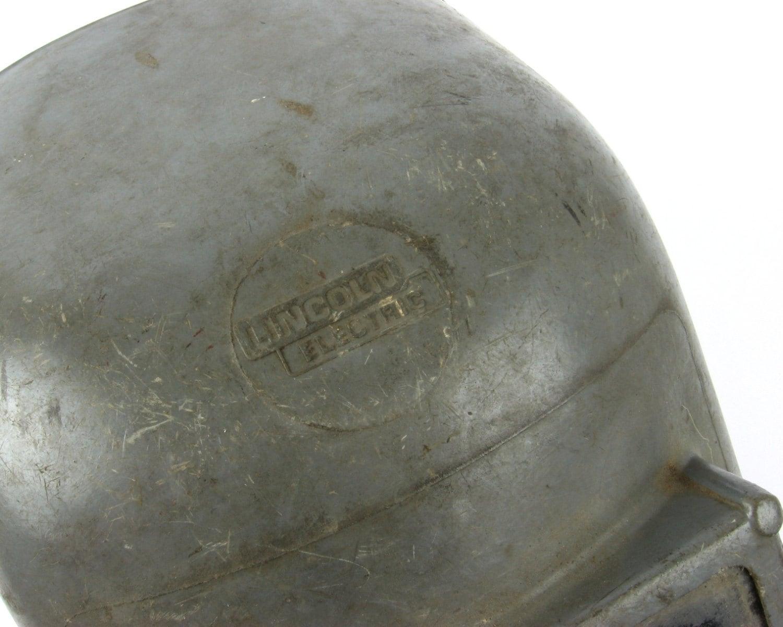 Vintage 1950s Welding Helmet Welders Mask By Retroburgh