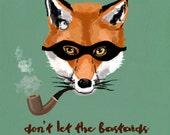 Fox-limited edition illustration