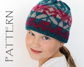 Knitting Sport Hat pattern - Beanie pattern