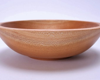 Wild Black Cherry Wooden Bowl 1342