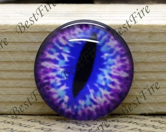 10mm,12mm,14mm,16mm,18mm,20mm,25mm,30mm Round Dragon eye Photo Glass Cabochons , finding beads,Photo Glass Cabochons  eye-33