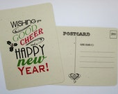 Holiday Postcards - Good Cheer! - set of 8