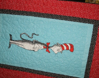 Dr. Seuss Cat in the Hat Quilt Two