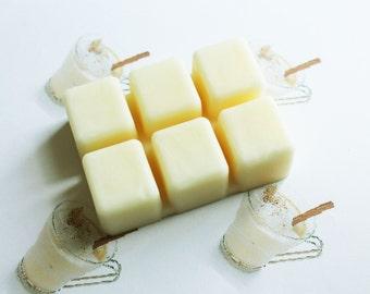 Egg Nog Scented Melts - Natural Vegan Soy Wax - Soy Candles - Soy Wax Melts - Soy Tarts