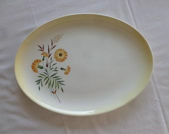 TST Shasta Daisy Meat Platter - Choice of 2 Sizes - Taylor Smith Taylor -1950's - F