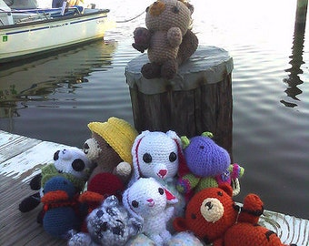 Custom Doll or Animal or Monster or Character Amigurumi, Custom Stuffed Animal, Custom Portrait Doll, Your Character Brought to Life in Yarn