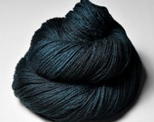 A dark storm is coming near - Merino Sport Yarn Machine Washable