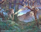 Dawn Fairy Greeting Card