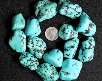 TurquoiseNugget  Beads Southwestern 29x23mm 16121442