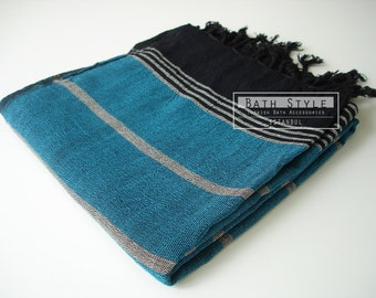 Shipping with FedEx - High Quality Pareo and Turkish BATH Towel Peshtemal - Willow fibers - Cotton