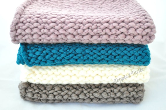 Chunky Bump Posing Blanket Photo Prop | Newborn Layering Blanket | Newborn Bump Blanket | Mini Bump Blanket | Newborn Posing Blanket