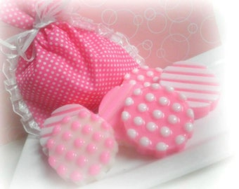 Girly Cookies Soap Set of 4