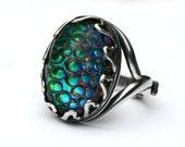 Dragon Skin Opal Ring