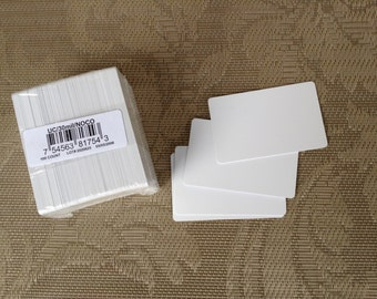 PVC Cards, Badge Cards, ID Cards, 100 count, Blank Cards, Ultracard