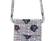 Houston Texans Play-Action Petite Crossbody Bag // NFL Team Print Mini Crossbody Purse // Houston Texans Bag