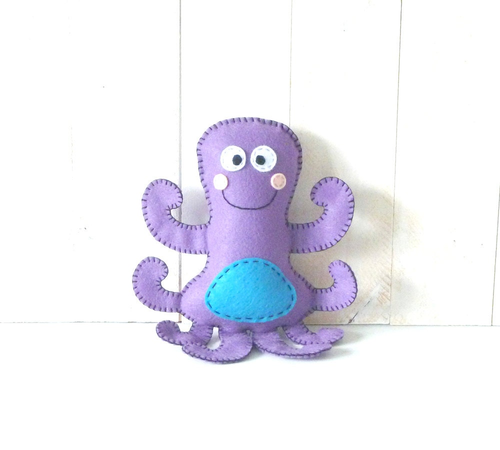 Octopus Pattern Octopus Stuffed Animal Pattern