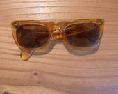1960s Vintage Spring Loaded Sunglasses Rare