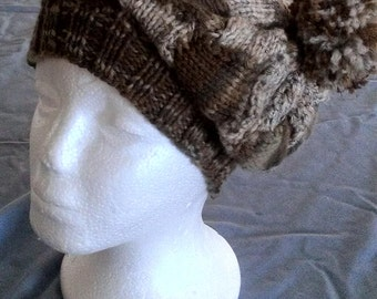 PDF Download for EZ Entrelac Hat Pattern