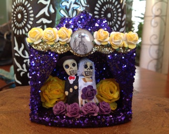 Day of the Dead Wedding Nicho