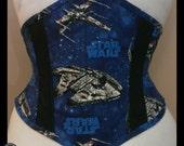 """26"""" Star Wars Fabric Comic Book Waist Cincher Corset"""