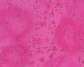 Fuchia Pink Cotton Metallic Fabric Fairy Frost in Petal by Michael Miller, 1 yard