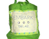 Tote Bag Embark LDS Youth Theme 2015